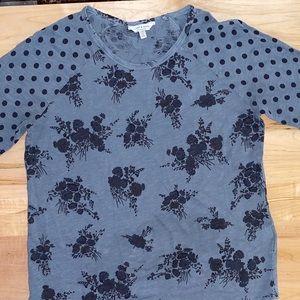 Lucky Brand three-quarter sleeve T-shirt